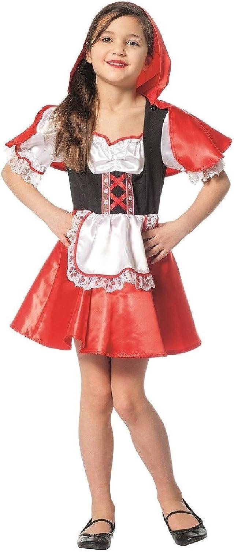 L3100490 schwarz-rot-weiß Kinder Kleid Mädchen Rotkäppchenkostüm B0778KYNSS  Neue Sorten werden eingeführt   | Flagship-Store