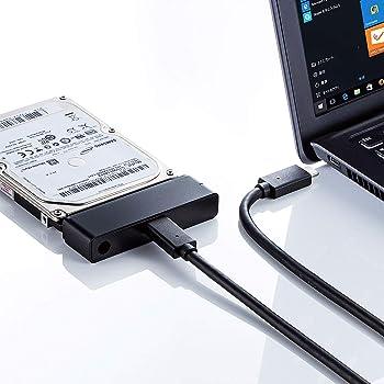 サンワサプライ SATA-USB3.1 Gen2変換ケーブル USB-CVIDE7