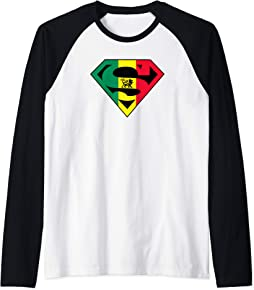 Super Reggae Raglan Baseball Tee