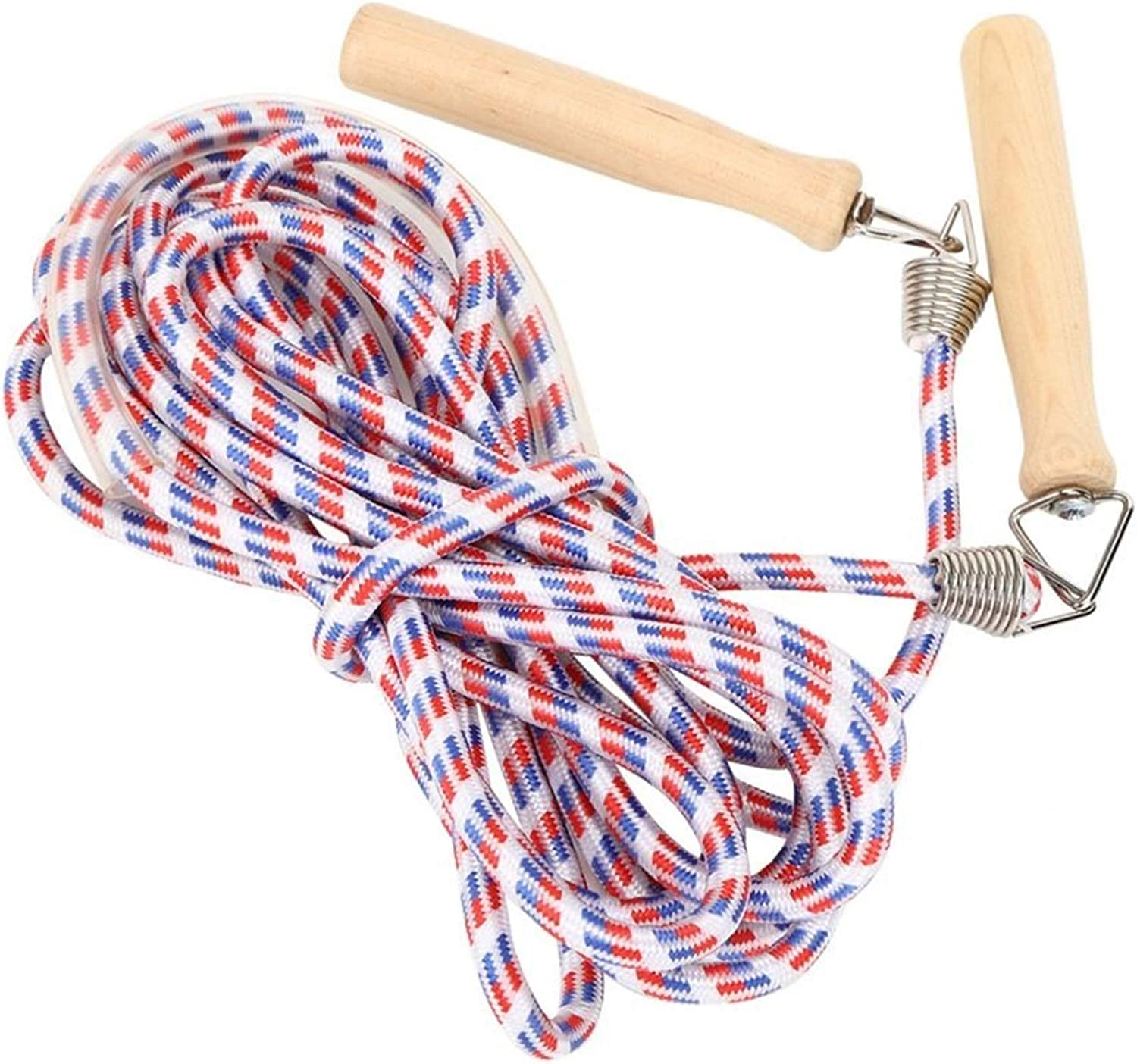 2021 model DWCA Skipping Rope Wooden Multiplaye Cotton Max 67% OFF Handle