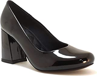 hype Women's Block Heel Formal and Business Shoe ZD10955