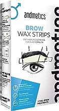 Andmetics Depilatory Strips for Men Eyebrows
