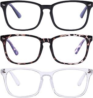Unisex Blue Light Blocking Glasses Blue Filter Computer Glasses (Anti Eye Eyestrain) Gaming Glasses for Women Man