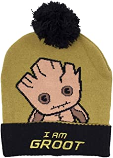Guardians of The Galaxy Beanie Hat Groot Kawaii Art Bobble Official