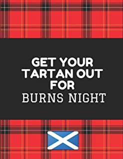 Get Your Tartan Out For Burns Night: Customised Notebook
