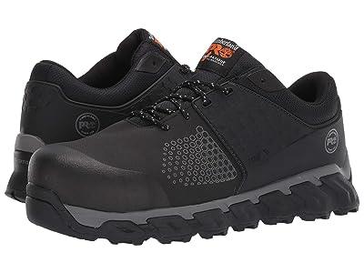 Timberland PRO Ridgework Composite Safety Toe Oxford (Black Ever-Guardtm Leather) Men