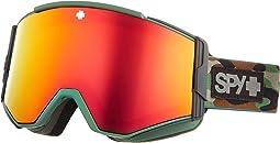 Camo - Hd Plus Bronze w/ Red Spectra Mirror + Hd Plus Ll Yellow