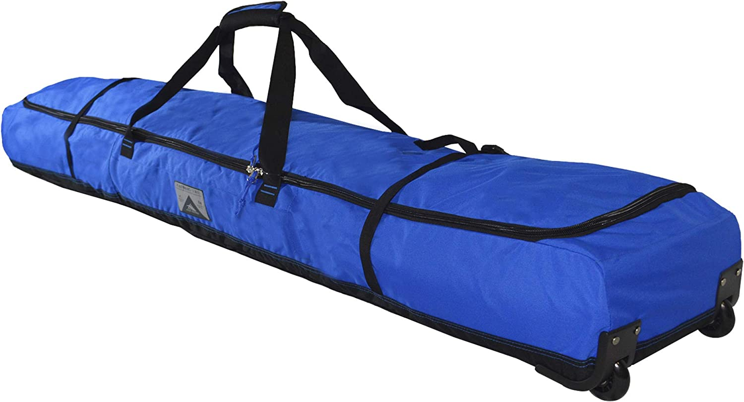 High Sierra Wheeled Double Ski Bag Vivid blueee Black