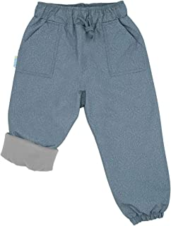 Jan & Jul Kids' Rain or Snow Pants, Water-Proof Cozy-Dry Fleece-Lined for Girls Boys Toddlers