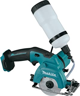 Makita CC02Z 12V MAX CXT Lithium-Ion Cordless Tile/Glass Saw, 3-3/8