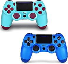 2 Pack Game Controller for PS4- Double Shock 4 Wireless Controller for Playstation 4 - Joystick with Sixaxis, Bluetooth, S...