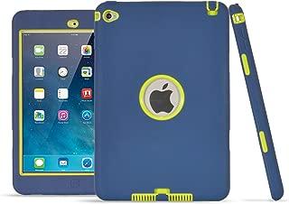 iPad Mini 4 Case, UZER Heavy Duty Shockproof Anti-Slip Silicone High Impact Resistant Hybrid Three Layer Hard PC+Silicone Armor Protective Case Cover for iPad Mini 4 (2015 Model)
