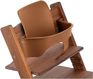 Stokke Tripp Trapp Chair Baby Set, No Harness, Walnut Brown