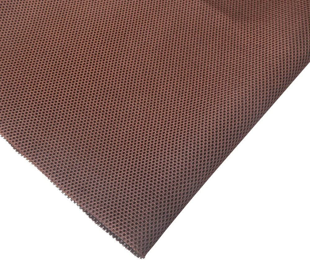 KISSTAKER 57x20inch Speaker Fabric Cloth - Stereo Speaker Grill Mesh Cover for Speaker Box Repair-Brown-Recover Your Speaker in Minutes : Electronics