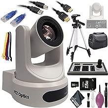 "$2448 » PTZOptics 30X-SDI G2 Live Streaming Broadcast Camera (White) - 4D IP Joystick Controller (G3) - HDMI Cable - Ethernet 5ft - 72"" Tripod - 32GB Card - USB A-B"