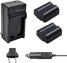 Bonacell CGA-S006E/DMW-BMA7 Battery 1500mAh and Charger Kit Compatible with Panasonic Lumix DMC-FZ7, DMC-FZ8, DMC-FZ18, DMC-FZ28, DMC-FZ30, DMC-FZ35, DMC-FZ38, DMC-FZ50 Digital Camera