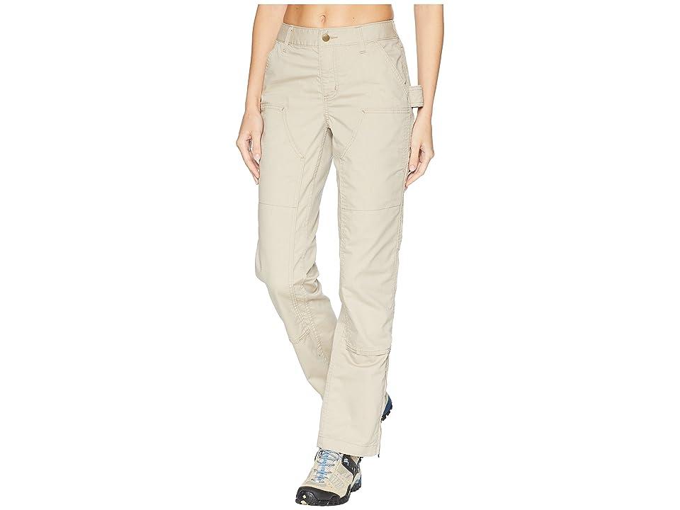 Carhartt Original Fit Smithville Pants (Tan) Women's Casual Pants