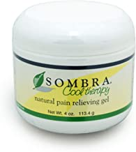 Best Sombra Cool Therapy Natural Pain Relieving Gel, 4-Ounce Jar Review