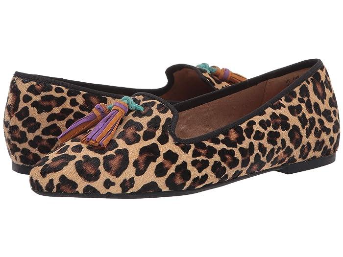 Hush Puppies  Sadie Tassel Slip-On (Leopard Haircalf) Womens Shoes