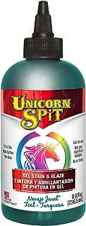 Unicorn SPiT 5771011 Gel Stain & Glaze, Navajo Jewel, 8 Ounce Bottle