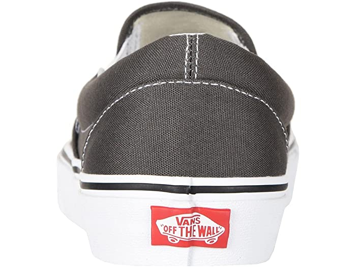 Vans Classic Slip-on™ Core Classics Charcoal (canvas) Sneakers & Athletic Shoes