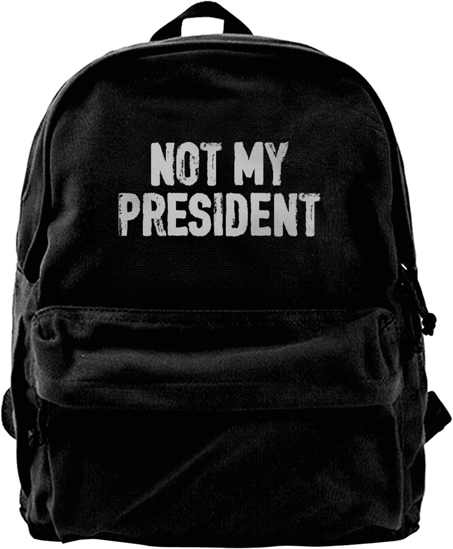 Not My Regular store President Canvas Backpacks Scho High-Capacity Laptop Ultra-Cheap Deals Bags