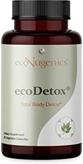 EcoNugenics – ecoDetox - 90 Capsules | Professionally Formulated to Support Total Body Detox & Optimal Cleansing | Enhance...