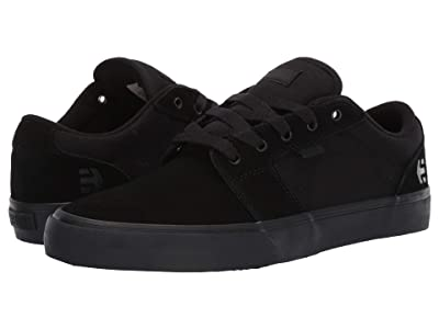 etnies Barge LS (Black/Black/Black) Men