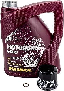 Olie+oliefilter olieverversingsset geschikt voor Honda VTR1000F SC36 1997-2006