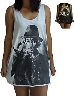 Lone Ranger Johnny Depp Vest Tank-Top Singlet Dress T-Shirt Mens Womens Ladies
