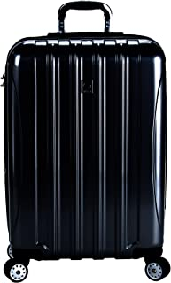 """Delsey Luggage Helium Aero 25"""" Expandable Spinner Trolley (Black)"""