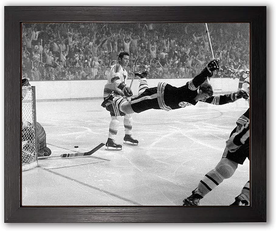Boston Bruins Bobby Houston Mall Ranking TOP13 Orr Framed 8x10 Photo Gam Cup Stanley The of