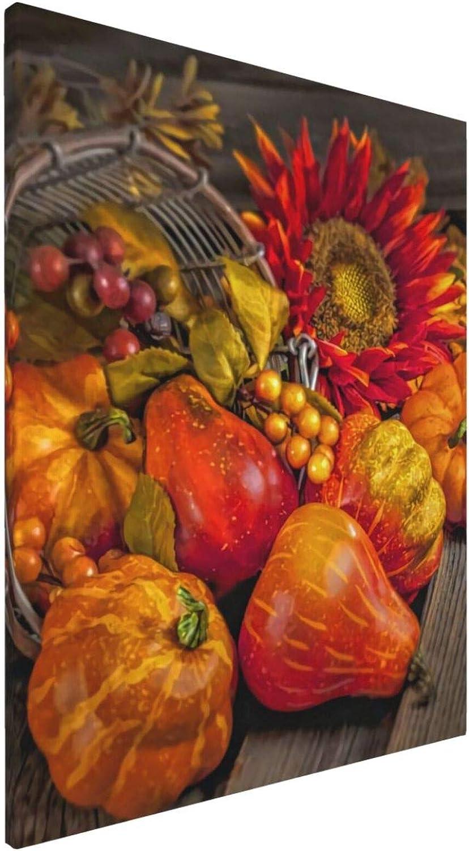 Thanksgiving Fruit Unframed Ranking TOP13 Canvas Art Poster Wall Bathroom Washington Mall