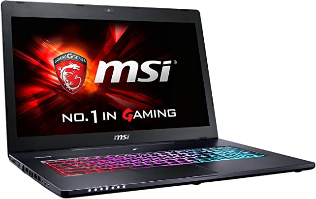 MSI GS70-2QC8H11 43 9 cm 17 3 Zoll Laptop Intel Core i7-5700HQ 2 7GHz 8GB RAM 1TB HDD NVIDIA GF GTX 960M Windows 10 Home schwarz grau Schätzpreis : 440,00 €