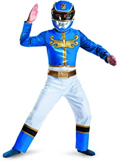 Disguise Power Ranger Megaforce Blue Ranger Boy's Classic Costume, 10-12