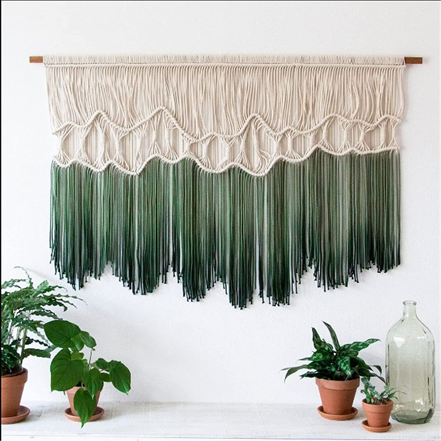 Snhpk Macrame Wall Hanging Curtain Bedroom Boho Indianapolis Mall Handm Decor Luxury with