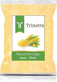 Trinetra Makka Daliya (Maize Porridge)-1Kg (Pack of 1)