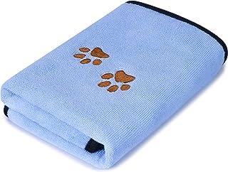 حوله حمام میکرو فیبر GAPZER حوله فوق العاده جاذب حیوان خانگی حوله فوق العاده خشک کن برای سگهای کوچک ، متوسط ، بزرگ