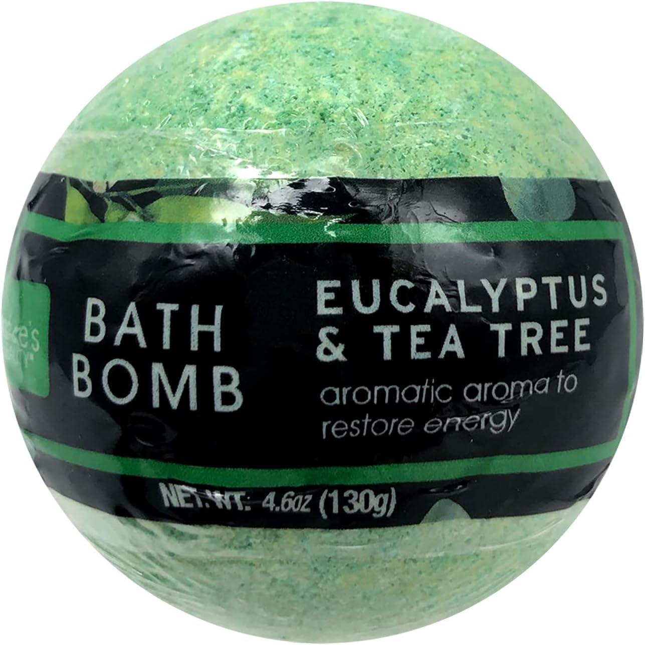 Nature's Beauty Eucalyptus Tea Tree Bath 4.6 Max 67% OFF Bomb – Max 63% OFF Oz F