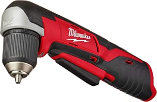 Milwaukee 2415-20 M12 12-Volt Lithium-Ion Cordless Right Angle Drill, 3/4 In, Bare Tool