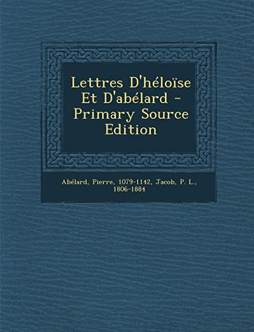 Lettres D'héloïse Et D'abélard