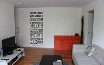 Rawpockets 'Never Give Up Quote' Wall Sticker (PVC Vinyl, 1 cm x 45 cm x 117 cm, Black)