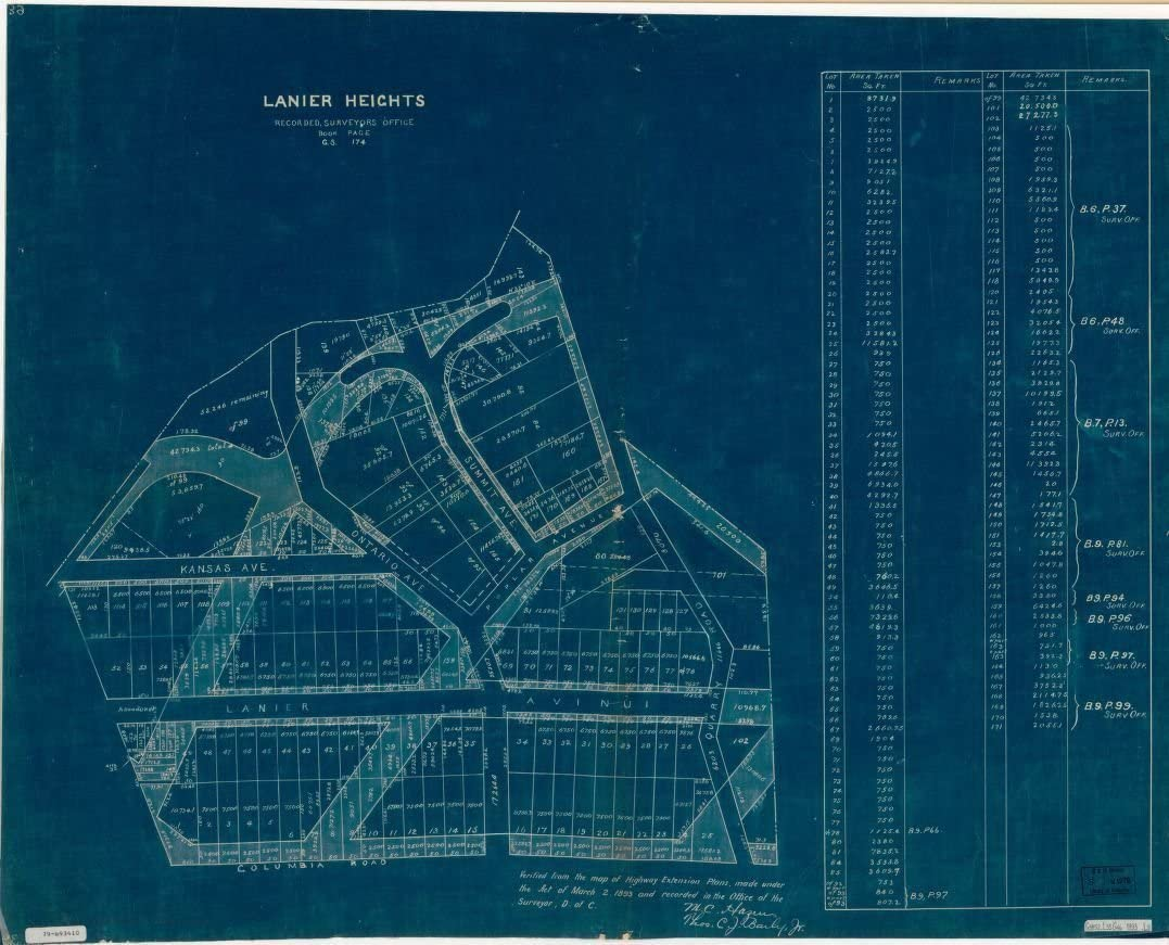 Vintography 18 x Excellence 24 Blueprint 18930Lani Style Map Low price Reproduced Old
