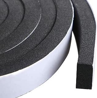 High Density Foam Tape Waterproof Sealing Strip CR Strips Neoprene Single-Sided Adhesive EVA Seal 3/4
