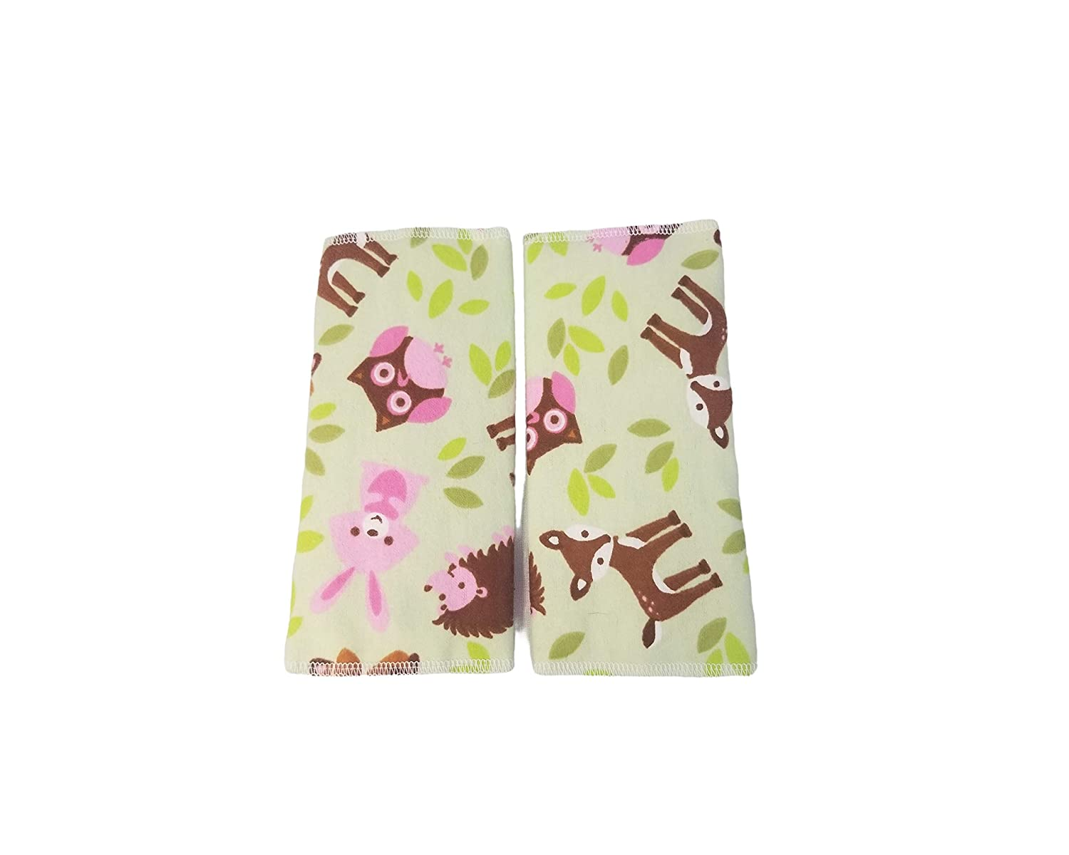 Green Woodland Drool Suck Pads fits Carriers Such as tula,lilliebaby,Ergo