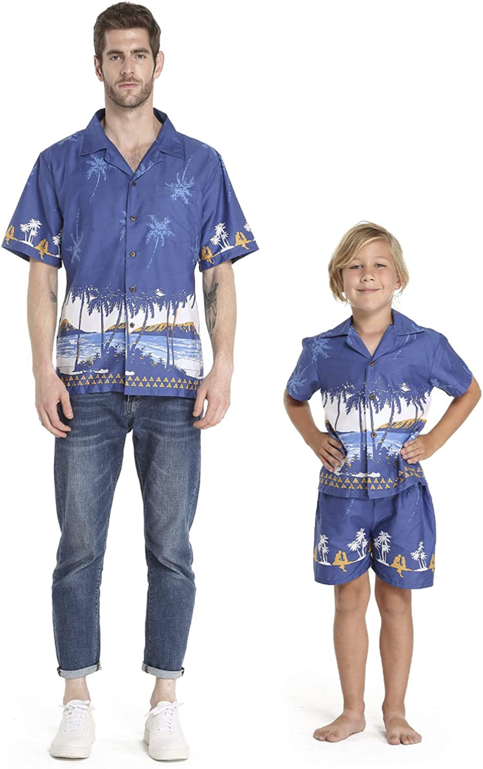 Matching Free shipping on posting reviews Father Son Hawaiian Luau Shirt Sho Boy Outfit Men Sales for sale