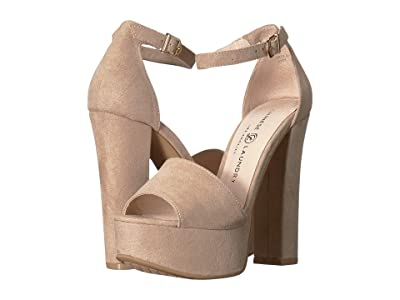Chinese Laundry Avenue 2 (Beige Microsuede) High Heels