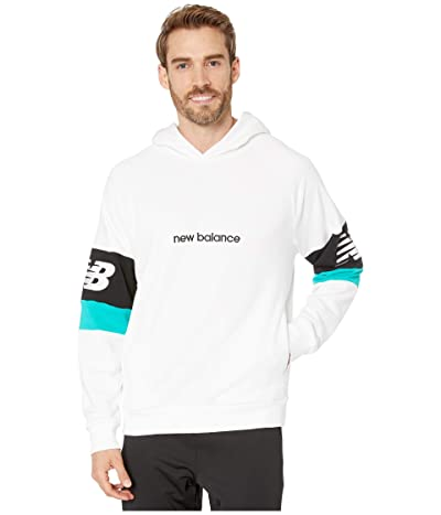 New Balance Athletics Classic Hoodie (White) Men