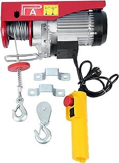 comprar comparacion Samger 1200W 300/600KG Polipastos Electricos para Garaje Auto Tienda Talleres 220V Guinche Electrico Cable para Elevador E...