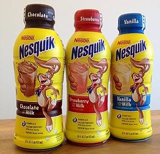 Nestlé nesquik fresa leche desviación escondite seguro